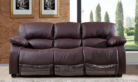 ספה תלת מושבית דמוי עור