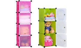 ארגונית 3 או 4 תאים לחדר ילדים