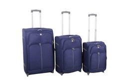 סט 3 מזוודות סוויס לייט