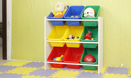 ארגונית 3 קומות לחדר הילדים