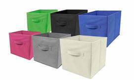 קופסאות קנבס לאחסון חפצים