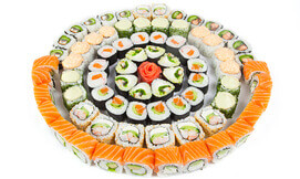 מגש מסיבה סושי צמחוני או דגים