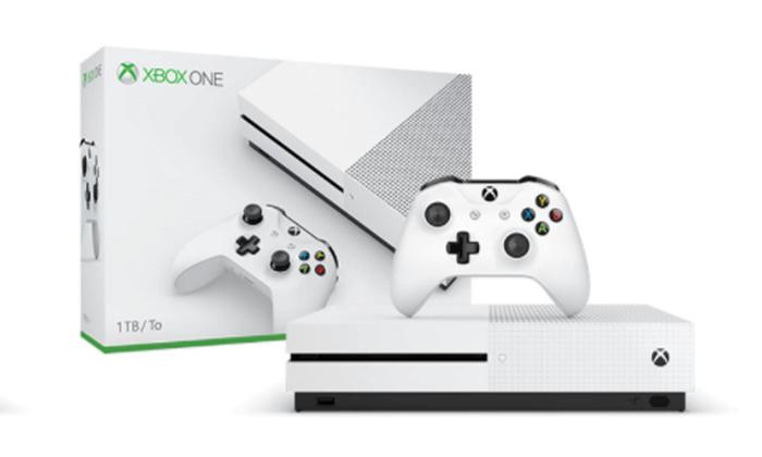 קונסולת Xbox One S בנפח 1TB עם שלט