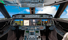 סימולטור טיסה מקצועי