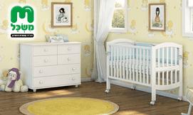 ריהוט מעוצב לחדר תינוקות