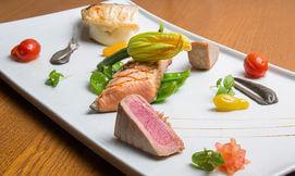 פסקדוס - ארוחת דגים זוגית
