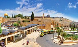 סיור ברכבת הכותל, ירושלים