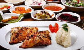 ארוחה זוגית בדרבי בר נמל ת''א