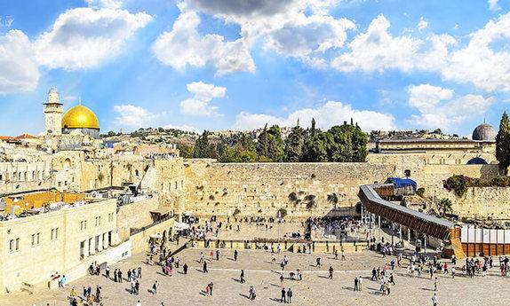 סיור ברובע היהודי ורכבת הכותל