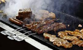 ארוחת בשרים לזוג במסעדת ריבס