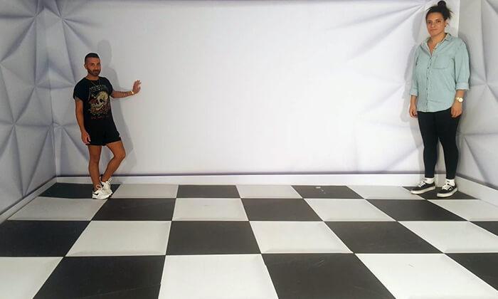 תערוכת TRICK ART בחנוכה, ארנה הרצליה