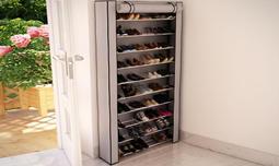 ארון נעליים לאחסון 50 זוגות