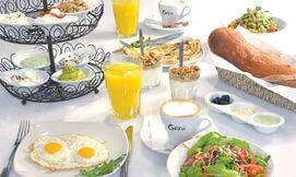 ארוחת בוקר זוגית בגרג, G יבנה