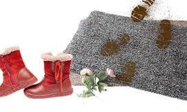 שטיח קסם לניקוי רגליים