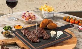 ארוחה זוגית במסעדת אראמיס