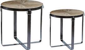 שולחן עגול דקורטיבי