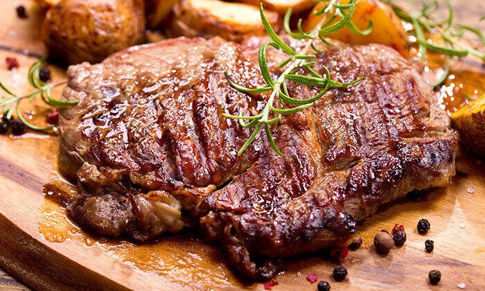 ארוחת בשרים זוגית במסעדת MEAT, שדרות הנשיא