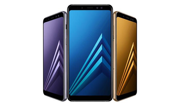 השקת סמארטפון +Samsung Galaxy A8
