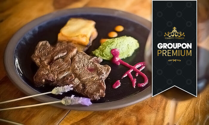 Groupon Premium | ארוחת גורמה זוגית במסעדת ADAMAבקתה קולינרית, זכרון יעקב