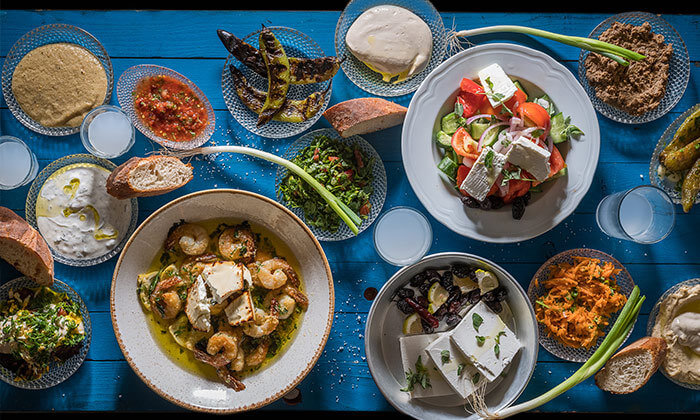 ארוחה זוגית במסעדת ג'קו מאכלי ים, רמת השרון
