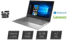 מחשב נייד Lenovo בגודל