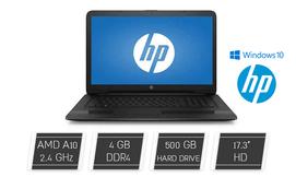 מחשב נייד hp עם מסך ''17.3