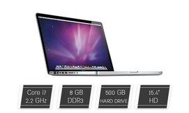 מחשב נייד ''Apple MacBook 15.4