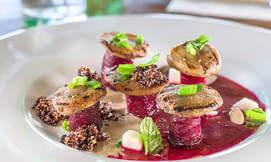 ארוחה זוגית במסעדת השף טורו