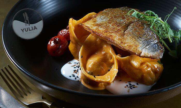 Groupon Premium|ארוחה זוגית ביוליה, מסעדת שף בנמל תל אביב