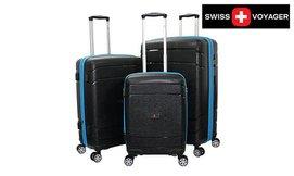 סט 3 מזוודות SWISSקשיחות