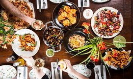 ארוחה זוגית איטלקית בפרנצ'סקה