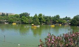 כניסה לאתר אגם חי, קיבוץ יראון