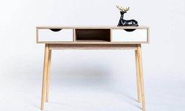 קונסולה מעוצבת שהיא גם שולחן