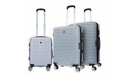 סט 3 מזוודות חכמות SWISS BAGS