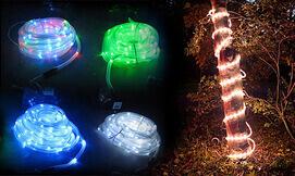 שרשרת נורות LED סולארית