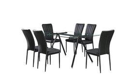פינת אוכל עם 6 כסאות