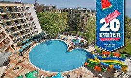 חופשה בוורנה במלון עם פארק מים