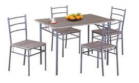 פינת אוכל + 4 כסאות