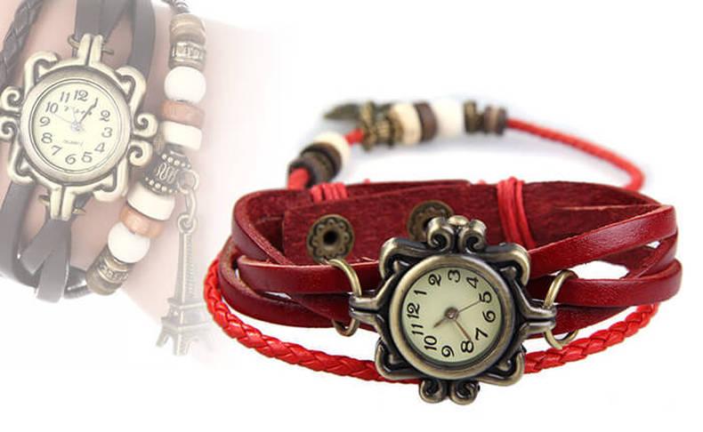 שעוני יד רטרו בעיצובים מיוחדים