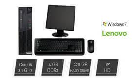 מחשב נייח Lenovo כולל מסך