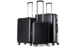 סט 3 מזוודות גמישות וחזקות