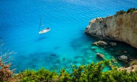 חופשה באי היווני לפקדה