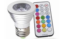 זוג נורות LED מחליפות צבעים