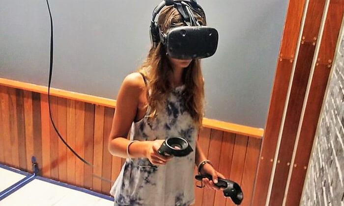 חדר בריחה במציאות מדומה, בלב תל אביב