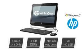 מחשב נייד HP AIO עם מסך