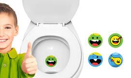 מדבקות כיוון לשירותים
