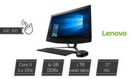 מחשב Lenovo AIO עם מסך מגע
