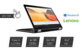 נייד Lenovo עם מסך מגע מסתובב