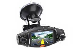 מצלמה דו כיוונית כולל GPS