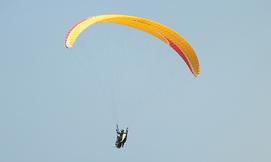טיסת רחיפה בחוף ארסוף
